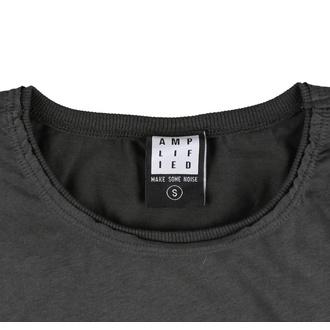tee-shirt métal pour femmes Rolling Stones - Charcoal - AMPLIFIED, AMPLIFIED, Rolling Stones