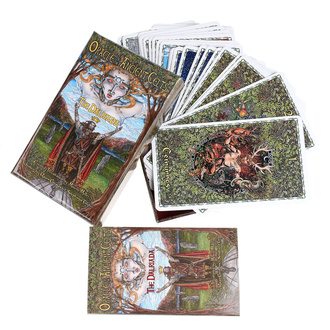 Les cartes du Tarot Oracle of the Ancient Celts, NNM