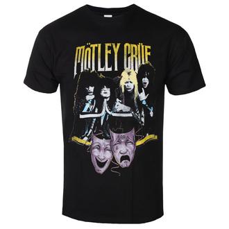tee-shirt métal pour hommes Mötley Crüe - Theatre Vintage - ROCK OFF, ROCK OFF, Mötley Crüe