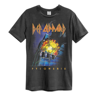 tee-shirt métal pour hommes Def Leppard - PYROMANIA - AMPLIFIED, AMPLIFIED, Def Leppard