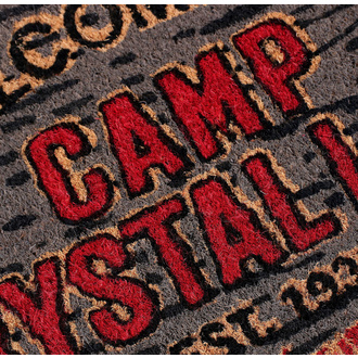 Paillasson Friday the 13th - Doormat Welcome To Camp, NNM, Friday the 13th