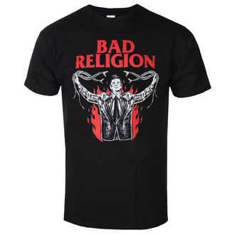 tee-shirt métal pour hommes Bad Religion - SNAKE PREACHER - PLASTIC HEAD, PLASTIC HEAD, Bad Religion