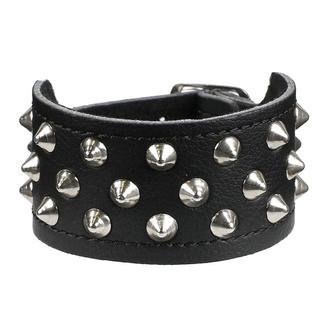Bracelet, BLACK & METAL