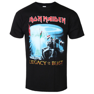 tee-shirt métal pour hommes Iron Maiden - Two Minutes To Midnight - ROCK OFF, ROCK OFF, Iron Maiden