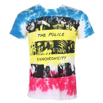 tee-shirt métal pour hommes Police - SYNCHRONICITY - LIQUID BLUE, LIQUID BLUE, Police