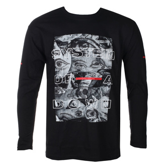 tee-shirt métal pour hommes System of a Down - Eye Collage - ROCK OFF, ROCK OFF, System of a Down