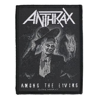 Patch Anthrax - Among The Living - RAZAMATAZ, RAZAMATAZ, Anthrax