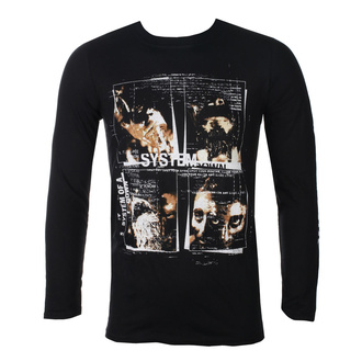 tee-shirt métal pour hommes System of a Down - FACE BOXES - PLASTIC HEAD, PLASTIC HEAD, System of a Down