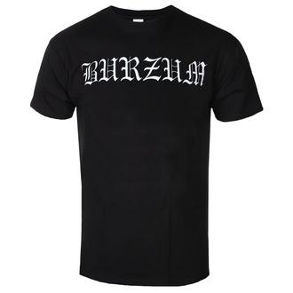 tee-shirt métal pour hommes Burzum - WHITE LOGO - PLASTIC HEAD, PLASTIC HEAD, Burzum