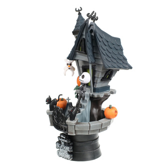 Figurine L'étrange noël de M. Jack - Jack's Haunted House, NNM, Nightmare Before Christmas