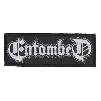 Patch Entombed - Logo - RAZAMATAZ, RAZAMATAZ, Entombed