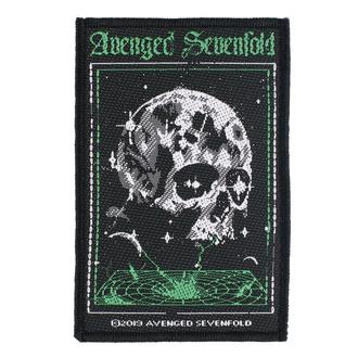 Patch Avenged Sevenfold - Vortex Skull - RAZAMATAZ, RAZAMATAZ, Avenged Sevenfold