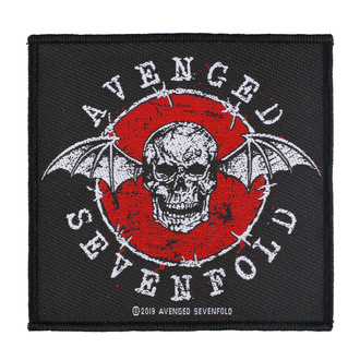 Patch Avenged Sevenfold - Distressed Skull - RAZAMATAZ, RAZAMATAZ, Avenged Sevenfold