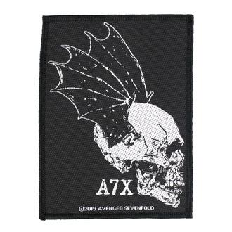 Patch Avenged Sevenfold - Skull Profile - RAZAMATAZ, RAZAMATAZ, Avenged Sevenfold