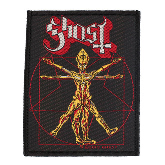 Patch Ghost - The Vitruvian Ghost - RAZAMATAZ, RAZAMATAZ, Ghost