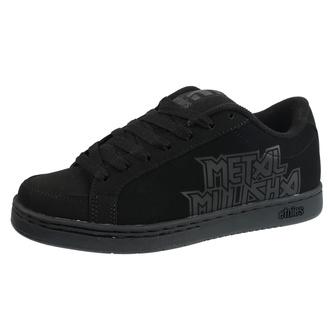 chaussures de tennis basses pour hommes - METAL MULISHA - 004 BLACK/BLACK/BLACK