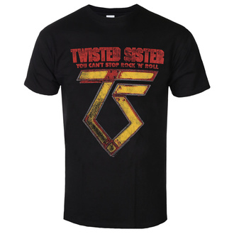 tee-shirt métal pour hommes Twisted Sister - You can't stop Rock ´n´ Roll - LOW FREQUENCY, LOW FREQUENCY, Twisted Sister