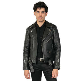 Veste (motard) STRAIGHT TO HELL pour homme - Commando Blk Nick, STRAIGHT TO HELL