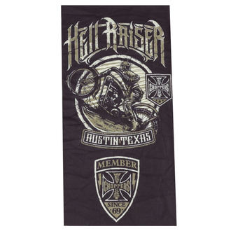 Cache-cou - WEST COAST CHOPPERS - HELL RAISER - BLACK, West Coast Choppers