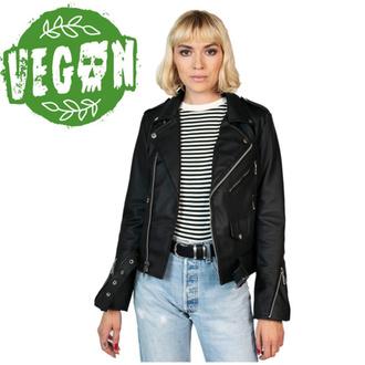 Veste motard (biker) pour femme STRAIGHT TO HELL - Vegan Commando II - Noir, STRAIGHT TO HELL