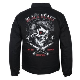 Veste pour hommes BLACK HEART - DENY BOY - NOIR, BLACK HEART