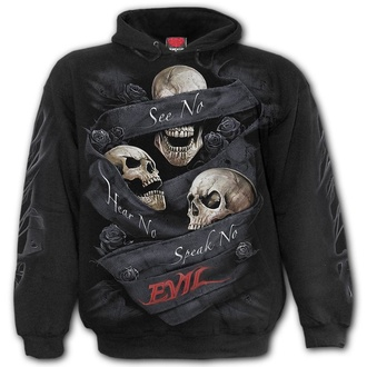 sweat-shirt avec capuche pour hommes - SEE NO EVIL - SPIRAL, SPIRAL