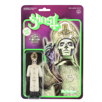 Figurine Ghost - Papa Emeritus III Glow in the Dark, NNM, Ghost