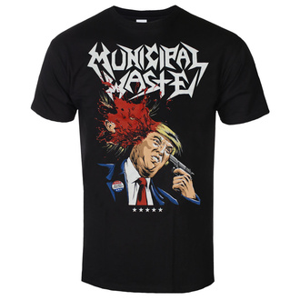 T-shirt metal pour hommes Municipal Waste - Trump- black - ART WORX, ART WORX, Municipal Waste