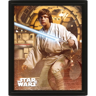 Photo 3D - STAR WARS - VADER VS SKYWALKER - PYRAMID POSTERS, PYRAMID POSTERS, Star Wars