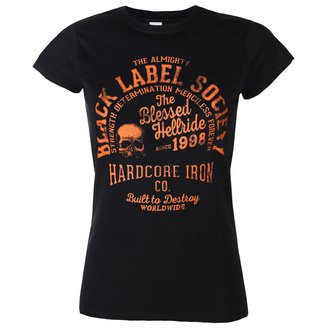 T-shirt BLACK LABEL SOCIETY pour femmes - HARDCORE HELLRIDE - PLASTC HEAD - PH11927G
