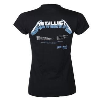 T-shirt METALLICA pour femmes - MASTER OF PUPPETS - TRACKS - NOIR - PLASTIC HEAD, PLASTIC HEAD, Metallica