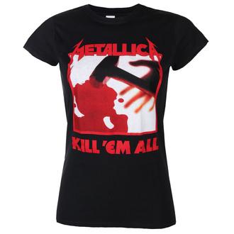 T-shirt METALLICA pour hommes- KILL EM ALL TRACKS - NOIR - PLASTIC HEAD, PLASTIC HEAD, Metallica