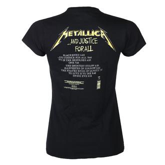 T-shirt METALLICA pour femmes - AND JUSTICE FOR ALL TRACKS - NOIR - PLASTIC HEAD, PLASTIC HEAD, Metallica