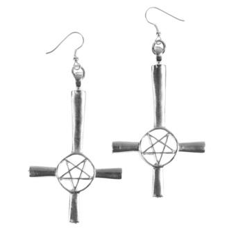 Boucles d'oreilles Croix / Pentagram, FALON
