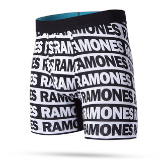 Boxer pour hommes THE RAMONES - WHOLESTER BLACK - STANCE, STANCE, Ramones