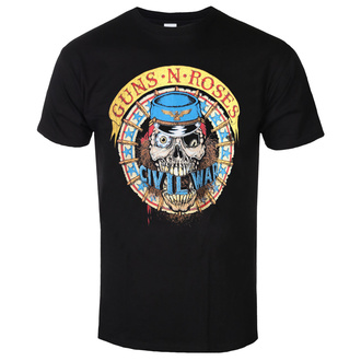 T-shirt Guns N' Roses pour hommes - Skull Circle - ROCK OFF, ROCK OFF, Guns N' Roses