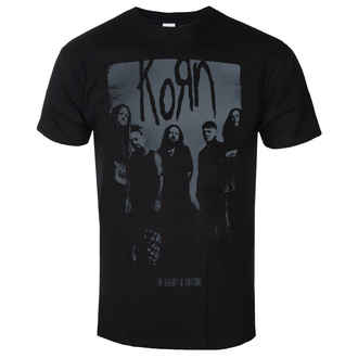 T-shirt pour hommes Korn - Knock Wall - ROCK OFF, ROCK OFF, Korn
