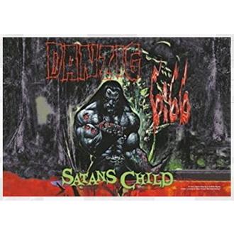 Drapeau Danzig - Satan Child, HEART ROCK, Danzig