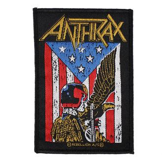 Patch Anthrax - Judge Dredd - RAZAMATAZ, RAZAMATAZ, Anthrax
