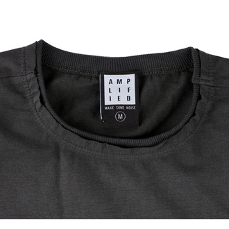 T-shirt pour hommes SLAYER - WAR SKULL - CHARBON DE BOIS - AMPLIFIED, AMPLIFIED, Slayer