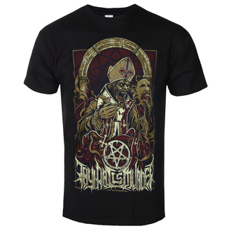 T-shirt Thy Art Is Murder pour hommes - Evil Pope - Noir - INDIEMARCH, INDIEMERCH, Thy Art Is Murder
