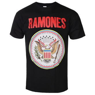 T-shirt Ramones pour hommes - Full Colour Seal - ROCK OFF, ROCK OFF, Ramones