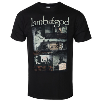 T-shirt Lamb Of God pour hommes - Album Collage - ROCK OFF, ROCK OFF, Lamb of God