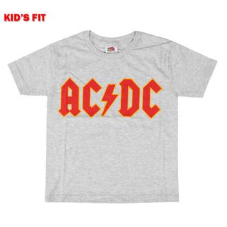 T-shirt pour enfants AC DC - Logo - ROCK OFF, ROCK OFF, AC-DC
