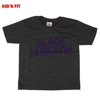 T-shirt pour enfants Black Sabbath - Wavy Logo - ROCK OFF, ROCK OFF, Black Sabbath
