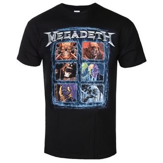 T-shirt pour hommes Megadeth - Head Grip - ROCK OFF, ROCK OFF, Megadeth