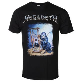 T-shirt pour hommes Megadeth - Countdown Hourglass - ROCK OFF, ROCK OFF, Megadeth