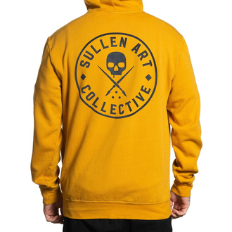 Sweat à capuche pour hommes SULLEN - EVER - MOUTARDE, SULLEN