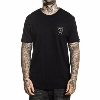 T-shirt pour hommes SULLEN - HOLMES - NOIR, SULLEN
