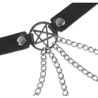 Ceinture Pentacle, Leather & Steel Fashion